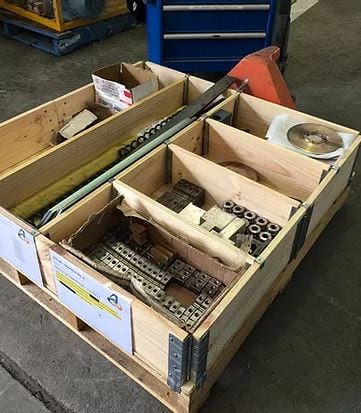 Pallet Collars Organise Components