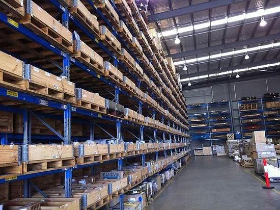 Pallet Collars Warehouse Organisation