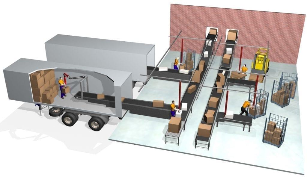 Vaculex ParceLift - Parcel Carrier Terminals