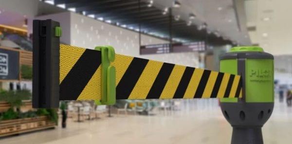 Pilot 10 M Retractable Barrier