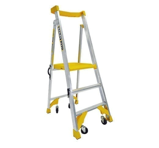Platform Stepladders Pro AL P170 Job Station 170 kg 1
