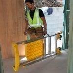 Aluminium Platform Stepladders P170 Job Station 170 kg