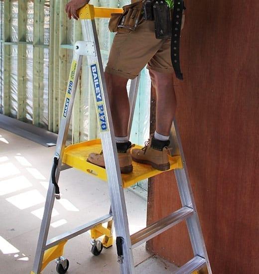 Platform Stepladders Pro AL P170 Job Station 170 kg 8