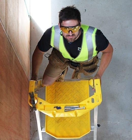 Platform Stepladders Pro AL P170 Job Station 170 kg 9