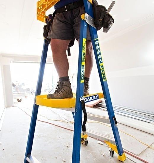 Platform Stepladders Pro FG P170 Job Station 170 kg 6