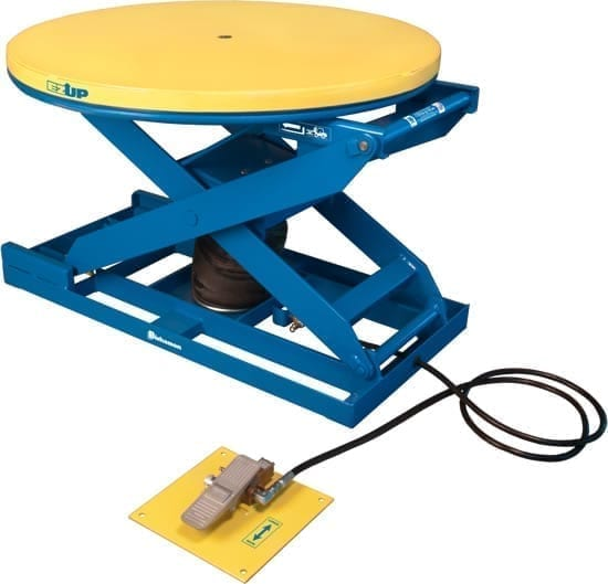 Pneumatic Scissor Table