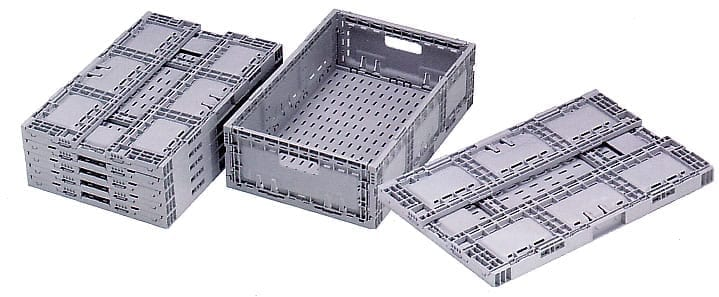 Polymer Folding Crates