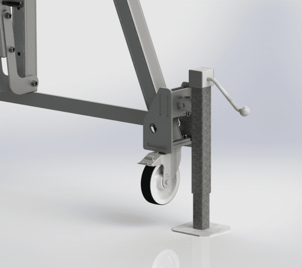 Porta Gantry Wind Up Jack Legs