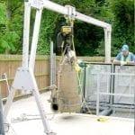 Porta-Gantry in action