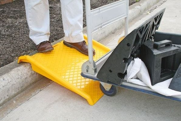 Portable Trolley Ramp PTR1 application