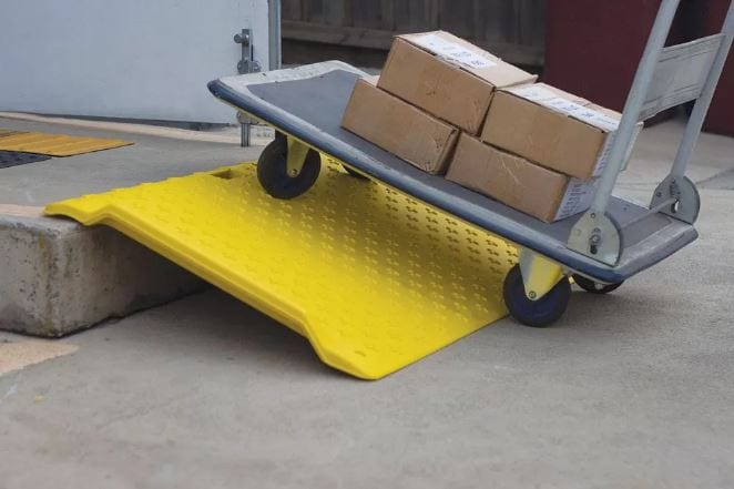 Portable Trolley Ramp PTR2 application