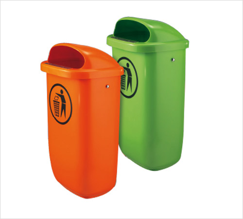 Post or Wall Mount Litter Bins