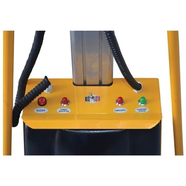 Powered Mobile Platform Lifter controls