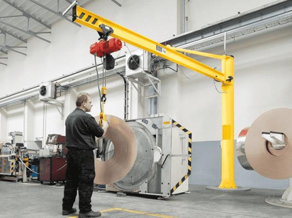 Jib Cranes Materials Handling
