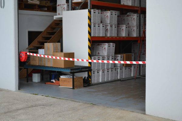 QBC Series Mini Barrier Reels application