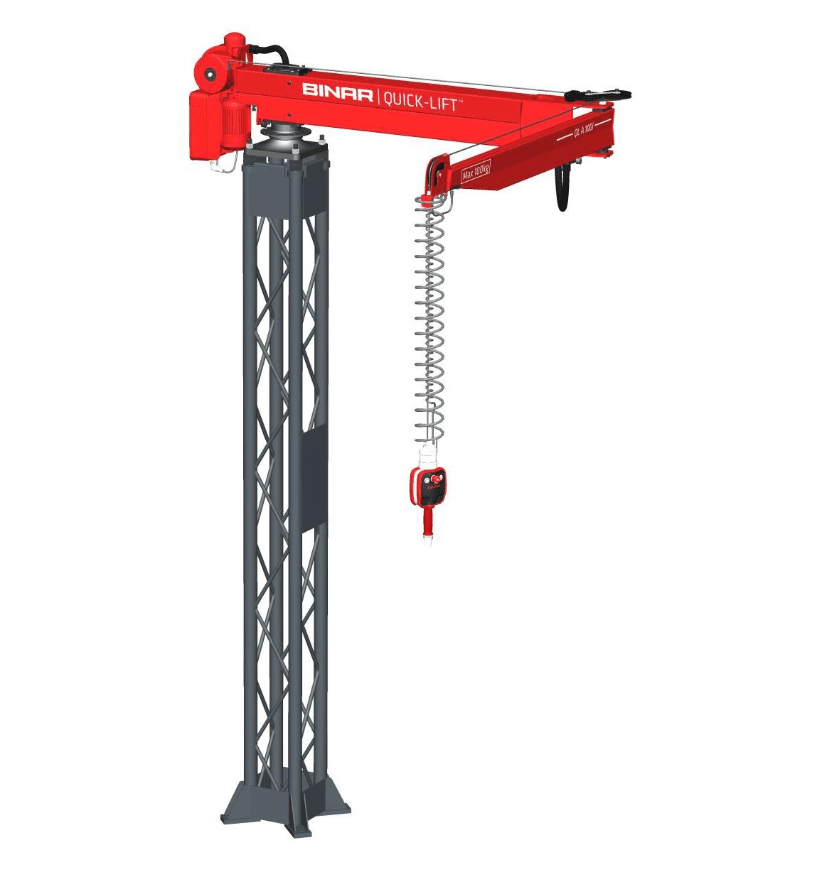 Quick-Lift Arm QLA and pillar