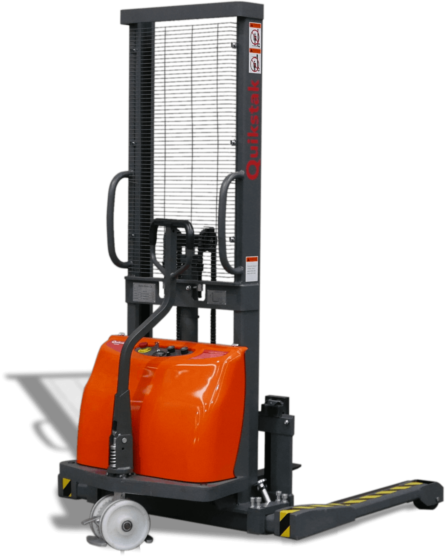 Quikstak S10 Semi Electric Stacker hero shot
