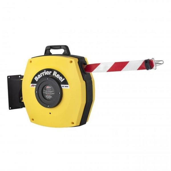 Retractable Safety Barrier Reels hero