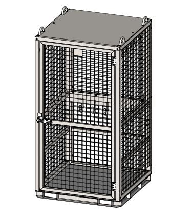 Rigging Storage Cage Drawing