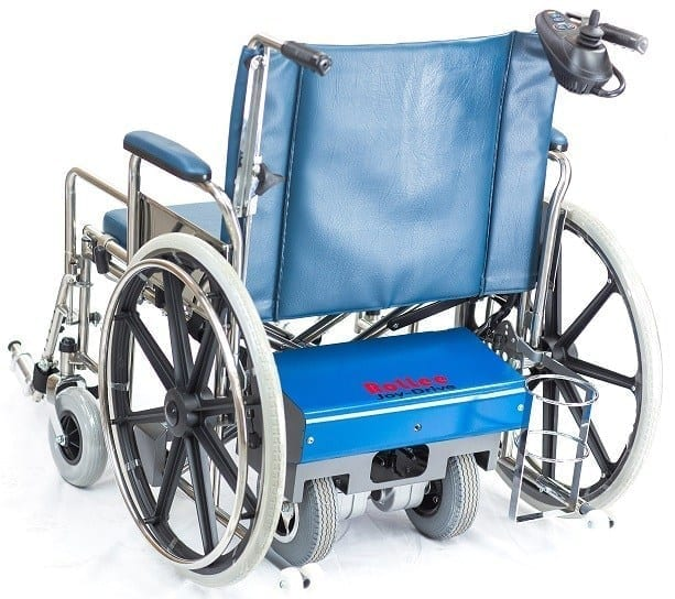 Rollee carer controlled wheelchair bariaitric