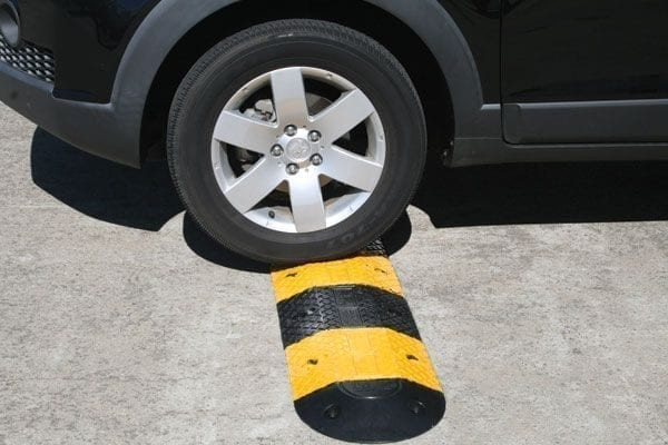 Rubber Speed Hump 1