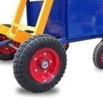Electro-Hydraulic Wheelie Bin Tipper (150kg) - Able to be transported