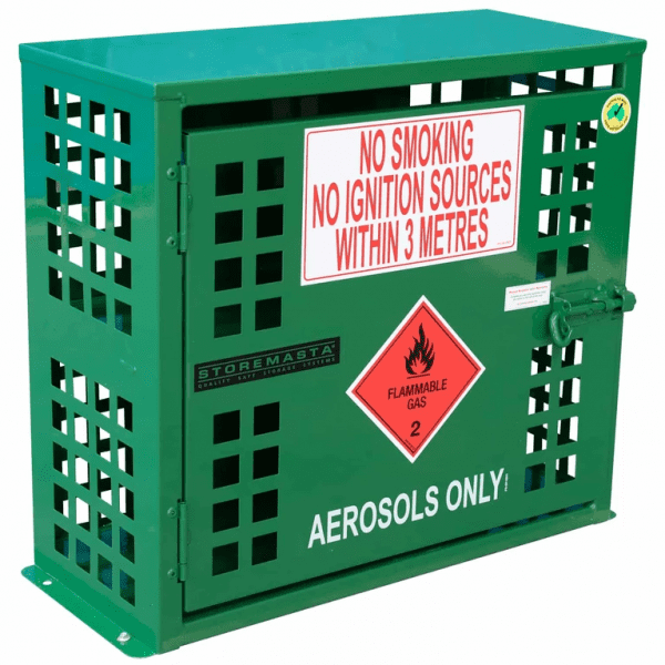 SAC002 Aerosol Can Storage Cages closed