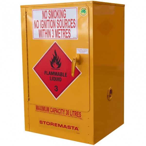 SC030 Indoor Dangerous Goods Storage Cabinets closed