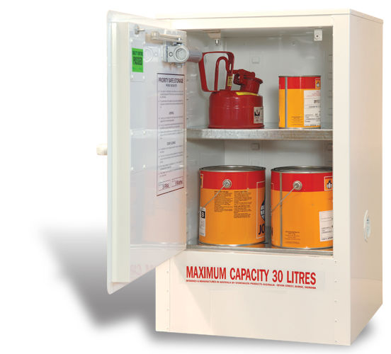 SC0306 Indoor Dangerous Goods Storage Cabinets open
