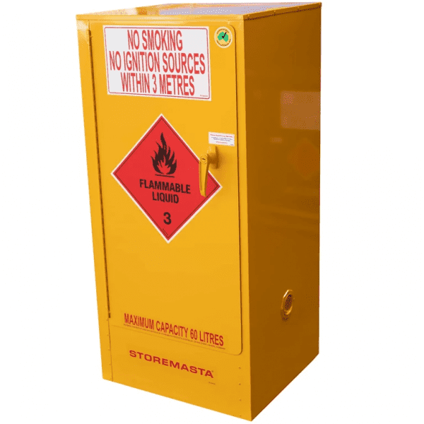 SC060 Indoor Dangerous Goods Storage Cabinets closed