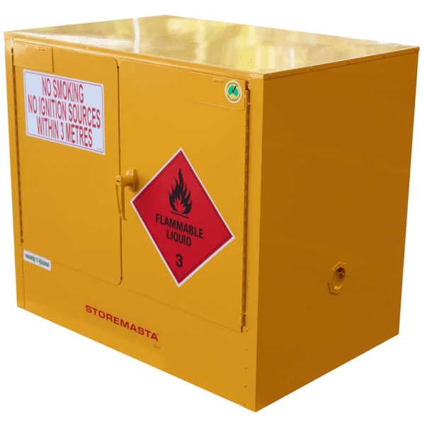 SC100 Indoor Dangerous Goods Storage Cabinets closed