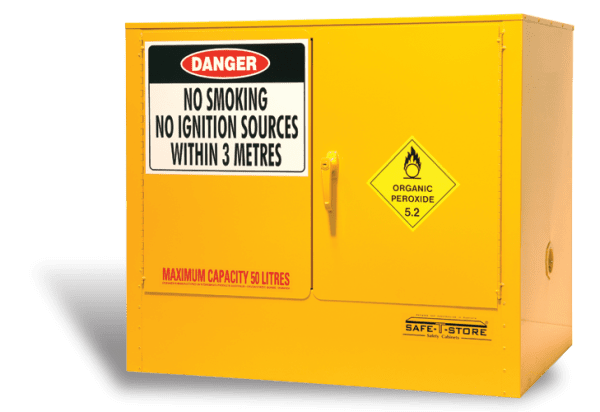 SC10052 Indoor Dangerous Goods Storage Cabinets closed
