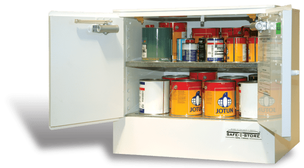 SC1006 Indoor Dangerous Goods Storage Cabinets open