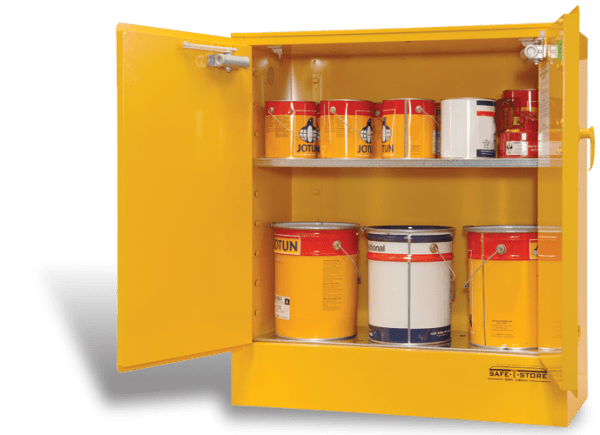 SC160 Indoor Dangerous Goods Storage Cabinets open