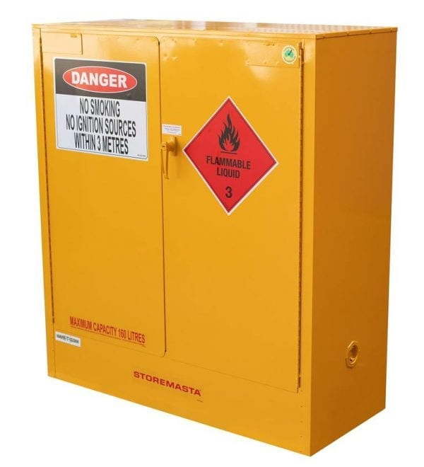 SC160 Indoor Dangerous Goods Storage Cabinets side profile