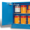 SC1608 Indoor Dangerous Goods Storage Cabinets open