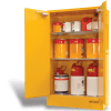 SC250 Indoor Dangerous Goods Storage Cabinets open