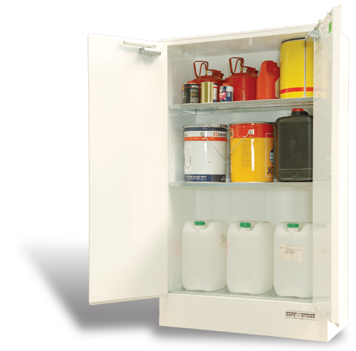 SC2506 Indoor Dangerous Goods Storage Cabinets open