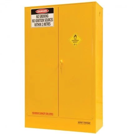 SC250A Indoor Dangerous Goods Storage Cabinets closed