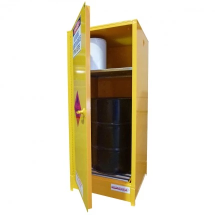 SCV Indoor Dangerous Goods Storage Cabinets open
