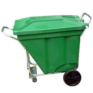 SE374B Gho Cart Mobile Waste Bins 4 wheel