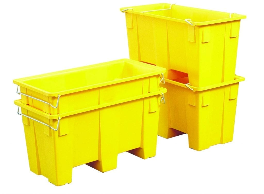 SE911 Poly Space Saving Container