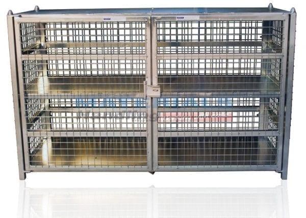 Gas Cylinder Storage Cages Materials Handling