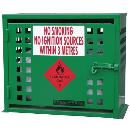 SGQA02 LPG Gasy Cylinder Storage closed