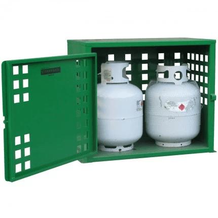 SGQA02 LPG Gasy Cylinder Storage open