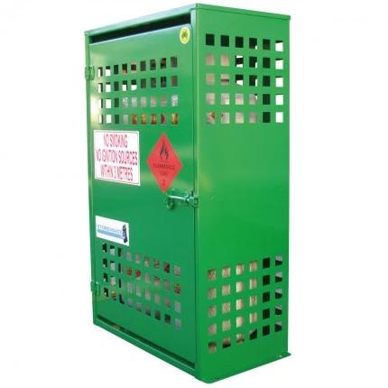 SGQA04 LPG Gasy Cylinder Storage closed