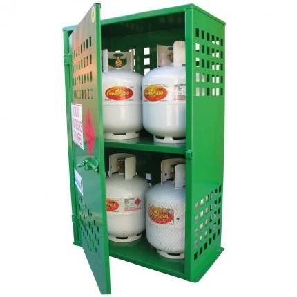 SGQA04 LPG Gasy Cylinder Storage open