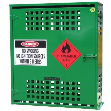 SGQA06 LPG Gasy Cylinder Storage closed