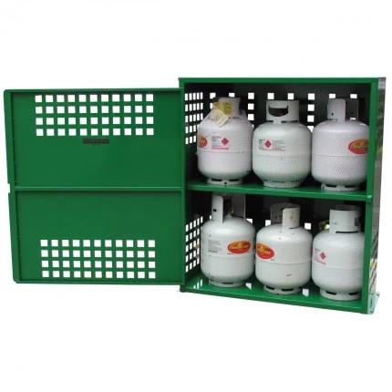 SGQA06 LPG Gasy Cylinder Storage open