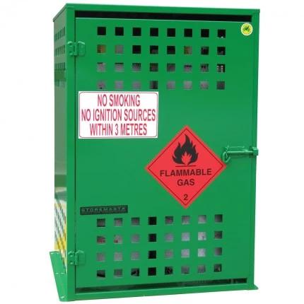 SGQA08 LPG Gasy Cylinder Storage closed